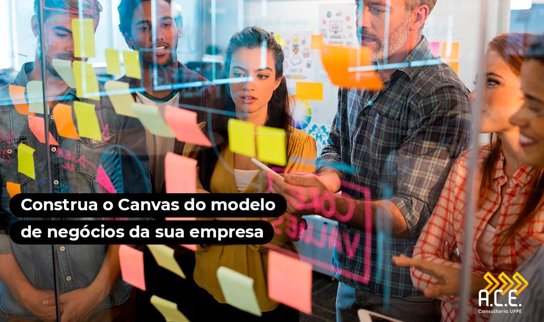 Construa o Canvas do modelo de negócios da sua empresa
